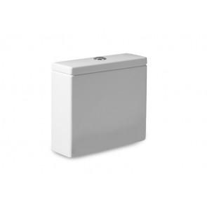 Tanque de doble descarga 6/3L con alimentación inferior para inodoro Blanco 365x140 Hall Roca