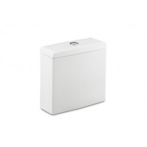 Tanque de doble descarga 4,5/3L alimentación inferior Blanco Meridian Roca