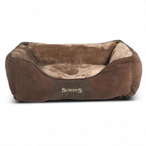 Scruffs & Tramps Cama para mascotas Chester talla M 60x50 marrón 1165