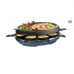 Raclette 3 en 1 RE310401 Colormania 8 Azul acero Tefal