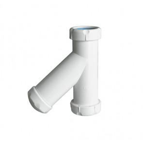 Sifón vertical  tubos lisos S.38 1 1/2x40 Jimten
