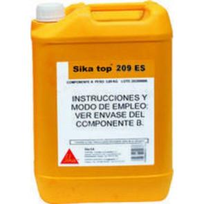 Mortero impermeabilizante SikaTop 209 ES gris