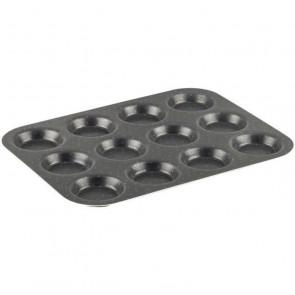 12 moldes para muffins J1602802 ÉXITO 30x23 cm marrón TEFAL