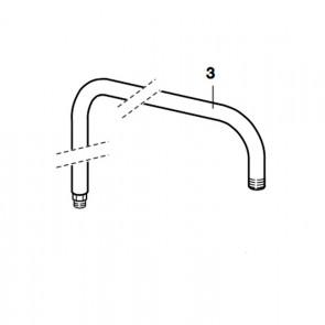 Kit tubo soporte rociador para columnas
