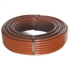 Microtubo Urbagreen flexible 4x6 marrón (bobina 25m) Cepex