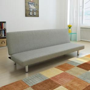 Sofá-cama color gris oscuro
