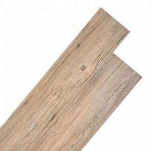 Lamas para suelo de PVC 5,26 m² roble marrón