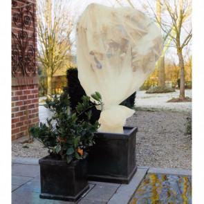 Cubre plantas beige de lana para invierno Nature 6030094, 2 x 5 metros
