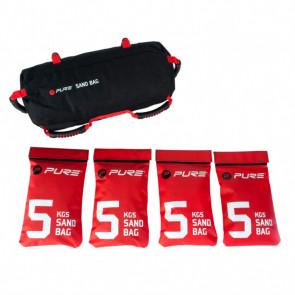 408901 Pure2Improve Pesas lastres saco de arena 20 kg P2I200500