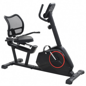 Bicicleta estática reclinable masa rotatoria 10 kg