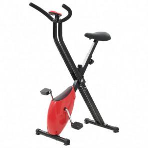 Bicicleta estática X-Bike resistencia de cinta roja