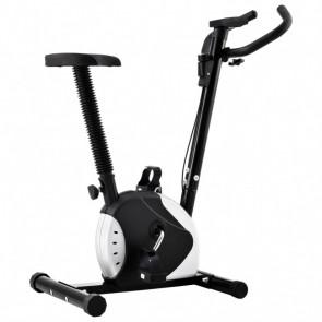 Bicicleta estática con resistencia de cinta negro