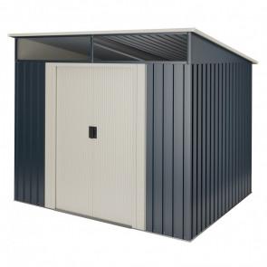 Cobertizo de metal Wasabi Stark 2,3m2