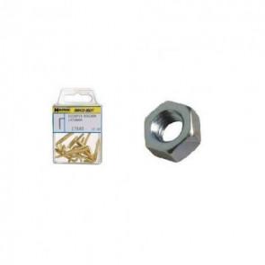 Tuerca hexagonal zincada m5  (50 unidades)