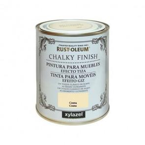 Pintura muebles tiza crema 750 ml - xylazel - 4080303
