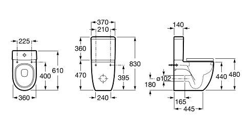 medidas meridian compacto